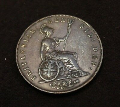 1827 Great Britain half penny KM 692 high grade circulated