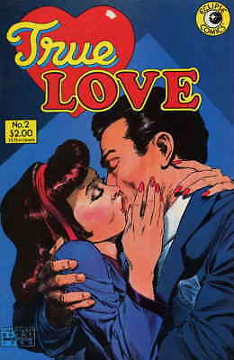 True Love #2 VF/NM; Eclipse   save on shipping - details inside