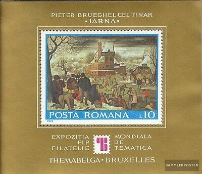 Romania block127 (complete issue) unmounted mint / never hinged 1975 Stamp Exhib