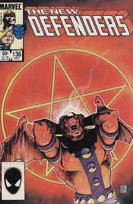 Defenders, The #136 VF/NM; Marvel   save on shipping - details inside