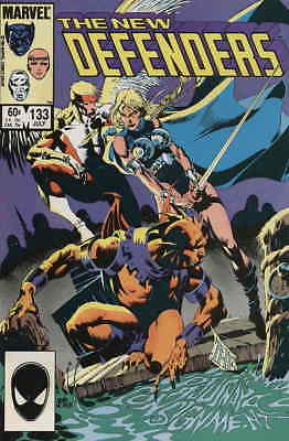 Defenders, The #133 VF/NM; Marvel   save on shipping - details inside