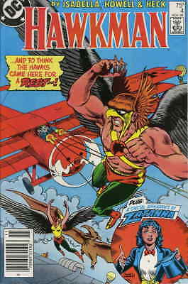 Hawkman (2nd Series) #4 FN; DC | save on shipping - details inside