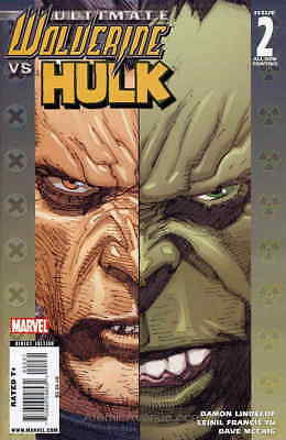 Ultimate Wolverine vs. Hulk #2 (2nd) VF/NM; Marvel | save on shipping - details