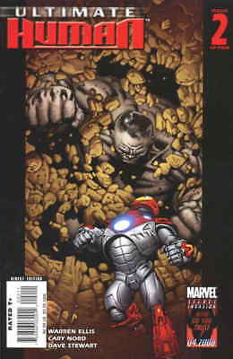 Ultimate Human #2 VF; Marvel | save on shipping - details inside