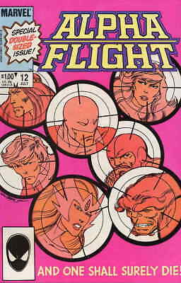 Alpha Flight (1st Series) #12 FN; Marvel | save on shipping - details inside