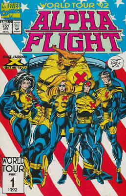 Alpha Flight (1st Series) #107 VG; Marvel | low grade comic - save on shipping -