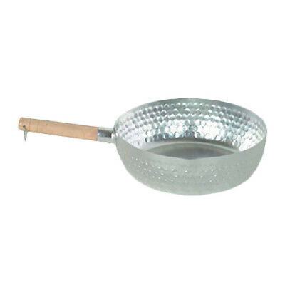 "Thunder Group ALSP004 9"" Aluminun Studded Snow Flat Pan w/ Round Imprint Sides"