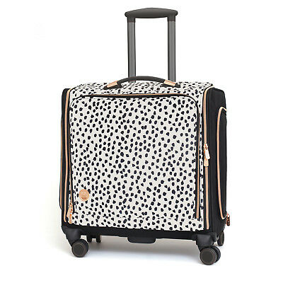 American Crafts We R Memory Keepers Crafters 360° Wheels Rolling Bag - Rose Gold