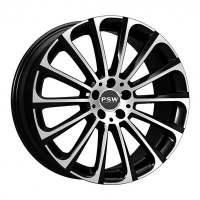 JANTES ROUES PSW TURBINA MERCEDES CLA SHOOTING BRAKE 8.5x20 5x112 BLACK DIAM 000