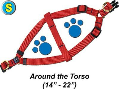 """Step-In Pet/Dog Harness - Small 14 - 22"""" - Assorted colors - PTH58QR2"""