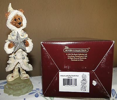 Polaris and The North Star On Ice Boyds Bears Figurine Folkstone Collection