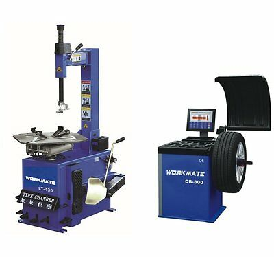 "Professional Tyre Changer (10""-24"") & Wheel Balancer Machine Combo-7 CE Standard"