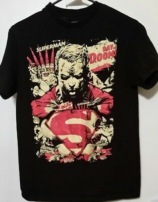 Superman Day Of Doom Doomsday DC Comics Licensed Adult T Shirt