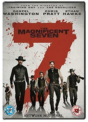 The Magnificent Seven [DVD] [2016 ], DVD 5035822495340 NUEVO