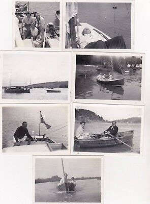7 Old Photo Iwa Inland Waterways Association Chairman Lionel Munk Norfolk Boats
