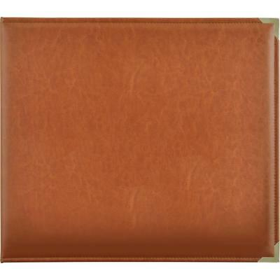 "Kaisercraft - 12x12"" D-Ring PU Leather Album - TAN"