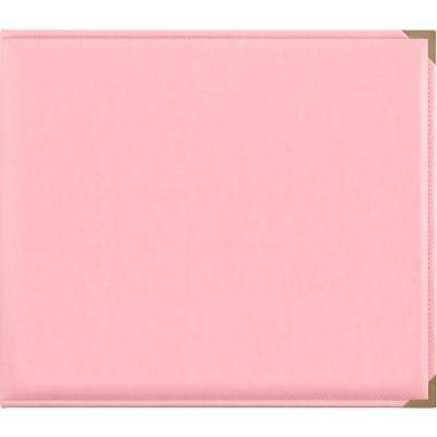 "Kaisercraft - 12x12"" D-Ring PU Leather Album - PINK"