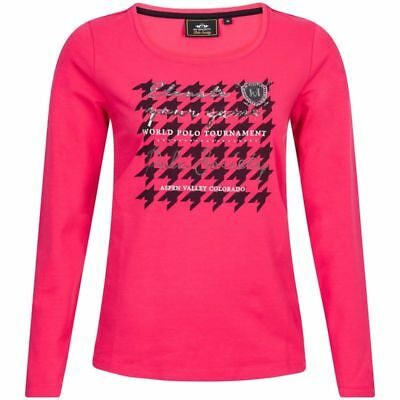 HV POLO T-shirt Stephany Fuchsia
