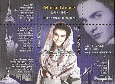 Romania Block572 (complete.issue.) unmounted mint / never hinged 2013 Maria Tana