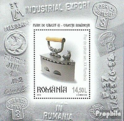 Romania Block525 (complete.issue.) unmounted mint / never hinged 2012 Historical