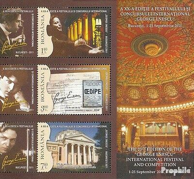 Romania Block511 (complete.issue.) unmounted mint / never hinged 2011 George Ene