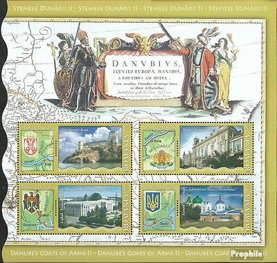 Romania Block479I (complete.issue.) unmounted mint / never hinged 2010 Donauanra