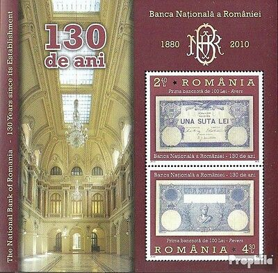 Romania Block477 (complete.issue.) unmounted mint / never hinged 2010 130 years