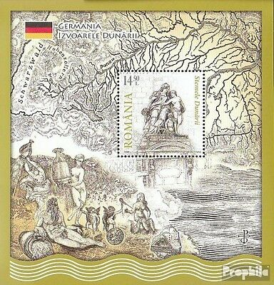 Romania Block469I (complete.issue.) unmounted mint / never hinged 2010 Donauanra