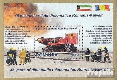 Romania Block429 (complete.issue.) unmounted mint / never hinged 2008 diplomatic
