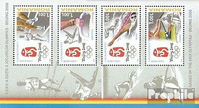 Romania Block424 (complete.issue.) unmounted mint / never hinged 2008 Olympics S