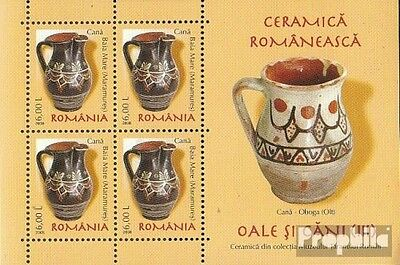 Romania Block421 unmounted mint / never hinged 2008 Romanian ceramics