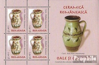Romania Block420 unmounted mint / never hinged 2008 Romanian ceramics