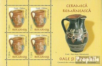 Romania Block414 unmounted mint / never hinged 2007 Romanian ceramics