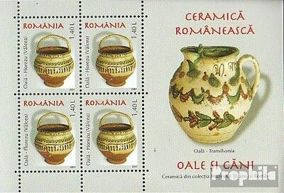 Romania Block404 unmounted mint / never hinged 2007 Romanian ceramics