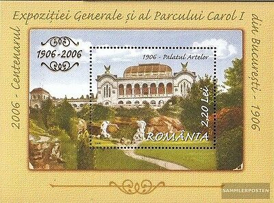 Romania Block379 (complete.issue.) unmounted mint / never hinged 2006 Provincial