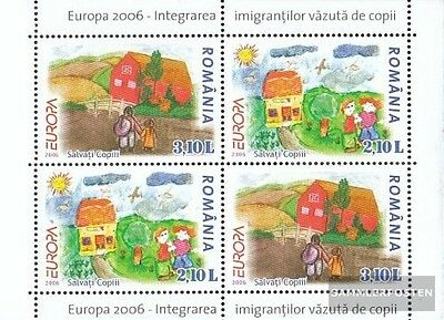 Romania Block374II (complete.issue.) unmounted mint / never hinged 2006 Europe:
