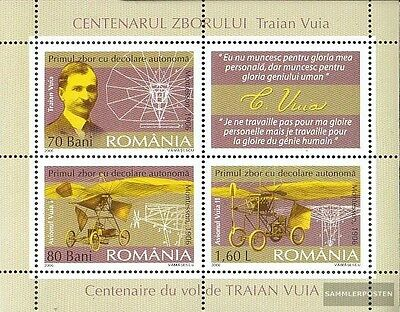 Romania block370 (complete.issue.) unmounted mint / never hinged 2006 Motorflug