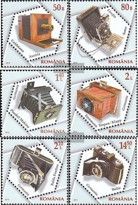 Romania 6689-6694 (complete.issue.) unmounted mint / never hinged 2013 Historica