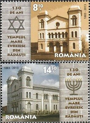 Romania 6678-6679 (complete.issue.) unmounted mint / never hinged 2013 130 years