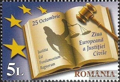 Romania 6570 (complete.issue.) unmounted mint / never hinged 2011 Day the Zivilj