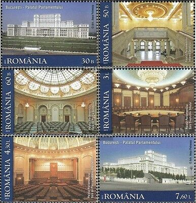 Romania 6516-6521 (complete.issue.) unmounted mint / never hinged 2011 Parlament