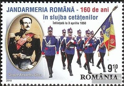 Romania 6425 (complete.issue.) unmounted mint / never hinged 2010 100Jahre genda