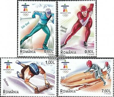 Romania 6410-6413 (complete.issue.) unmounted mint / never hinged 2010 Olympics