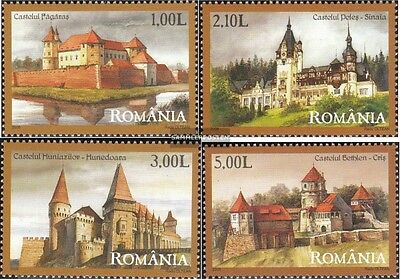 Romania 6313-6316 (complete.issue.) unmounted mint / never hinged 2008 fortresse