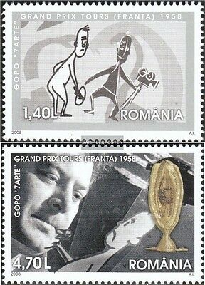 Romania 6309-6310 (complete.issue.) unmounted mint / never hinged 2008 film fest