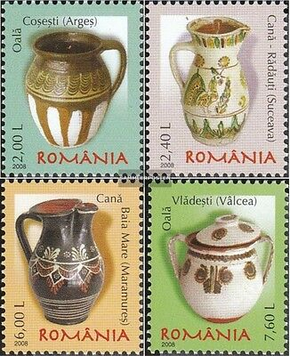 Romania 6277-6280 (complete.issue.) unmounted mint / never hinged 2008 Romanian