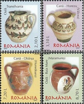 Romania 6247-6250 (complete.issue.) unmounted mint / never hinged 2007 Romanian