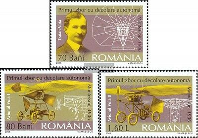 Romania 6046-6048 (complete.issue.) unmounted mint / never hinged 2006 Motorflug