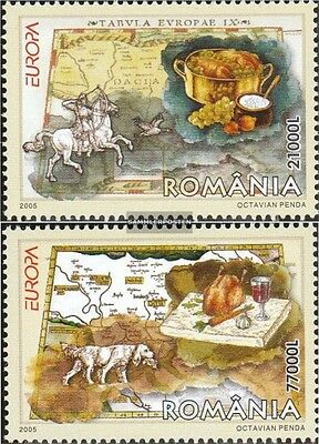 Romania 5935-5936 (complete.issue.) unmounted mint / never hinged 2005 Europe -