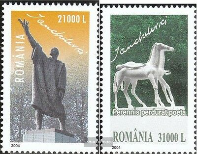 Romania 5863-5864 (complete.issue.) unmounted mint / never hinged 2004 Idel Ianc